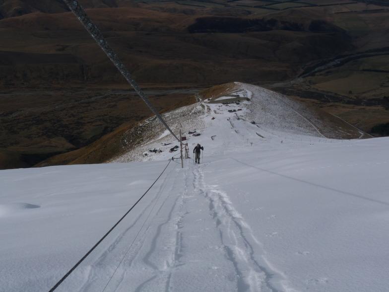 Long climb, Fox Peak