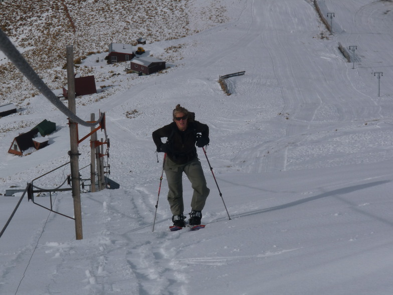 Splitboard Ascent, Fox Peak