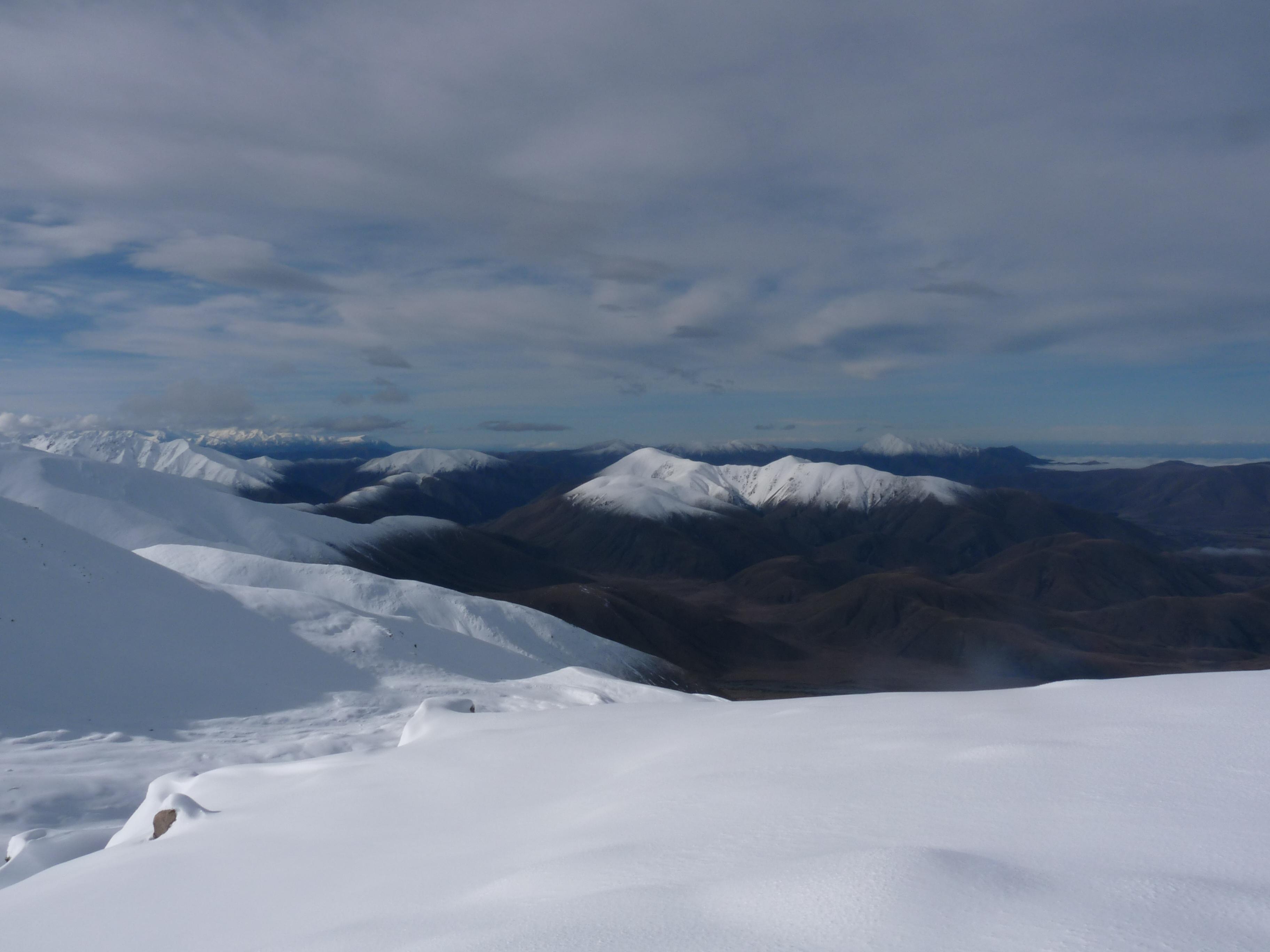 Distant Mount Hutt, Fox Peak