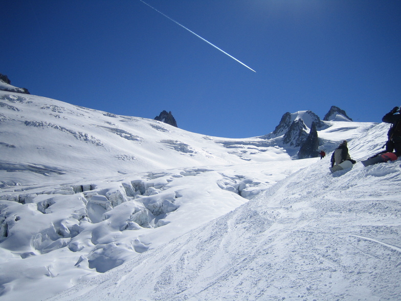 Vallee Blanche - awesome!, Chamonix