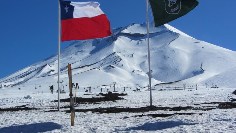 Centro de Esquí, Corralco (Lonquimay)