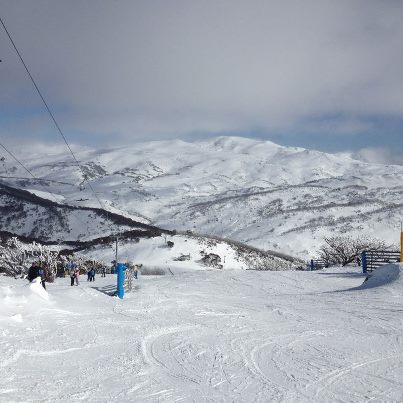 View out to Mount Kosciusko, Perisher