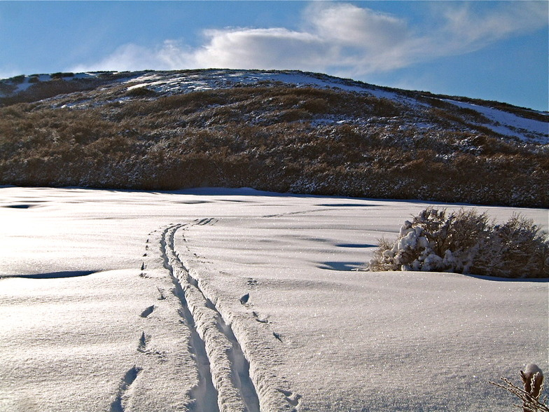 Por la Turba Alta Ski Nordico, Cerro Mirador