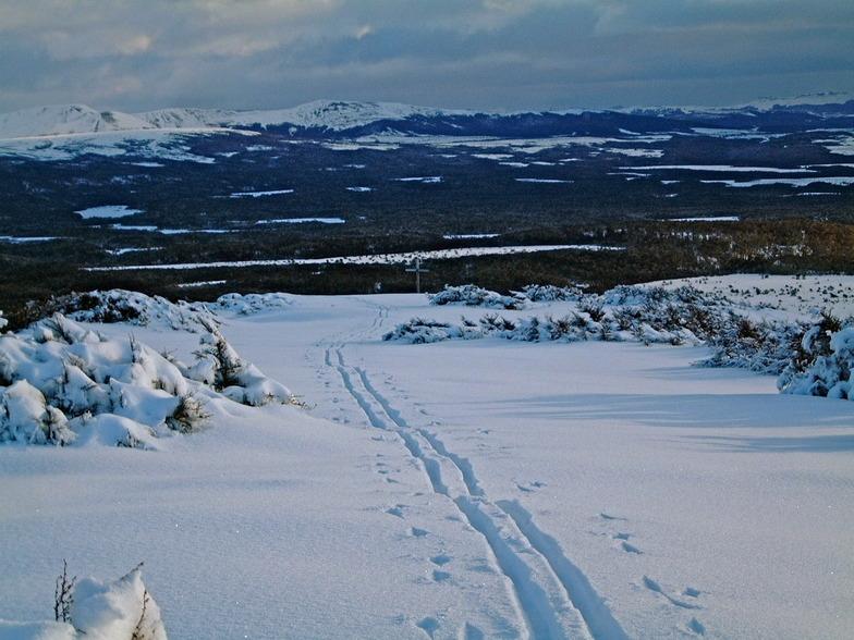 Vista Tres Morros - La Cruz -  Ski Nordico, Cerro Mirador