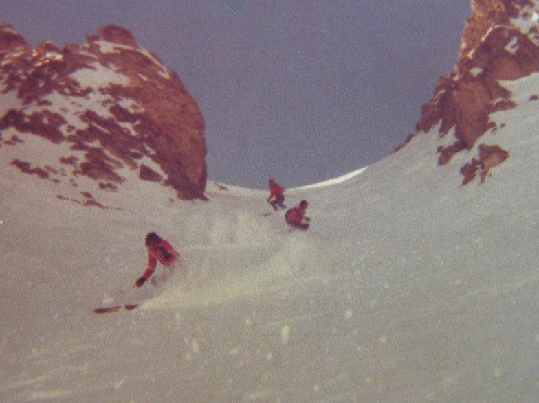 Precipicio chute 1977, El Colorado