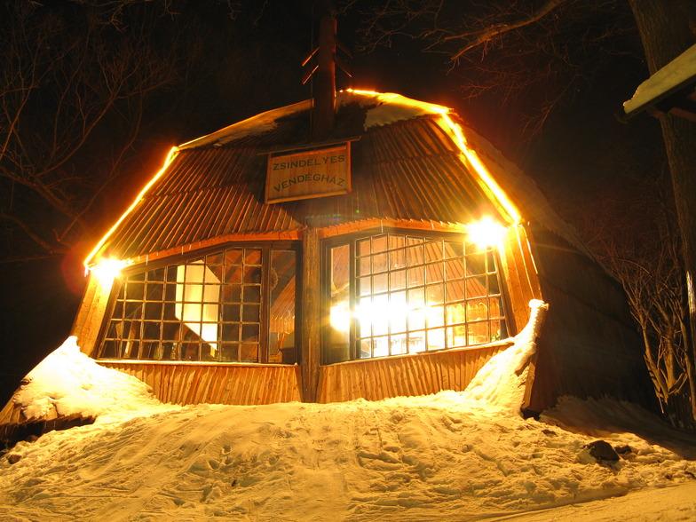 The skier's house in Dobogókő (Hütte), Dobogókő Sícentrum