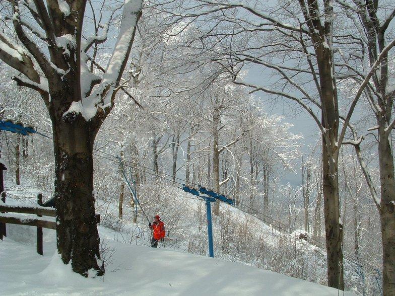 Ski lift at Dobogókő, Dobogókő Sícentrum