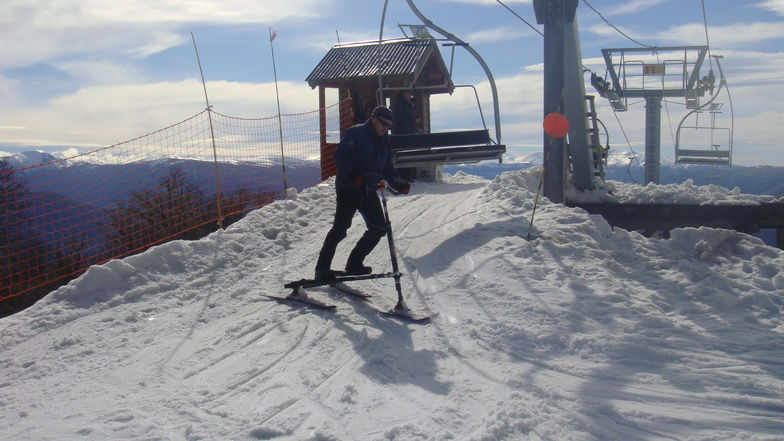 Trikke Skki en www.laderasur.com.ar, Chapelco