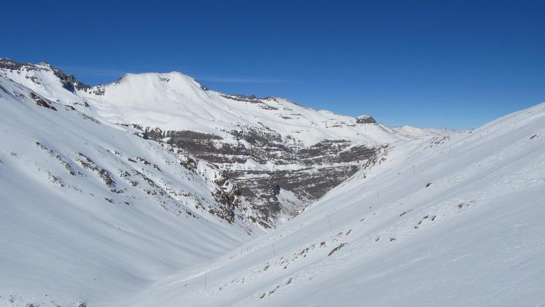 Desde Mirador, Valle Nevado