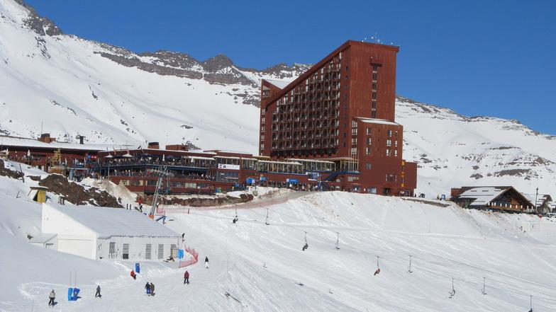Hotel Valle Nevado desde Foxtrot