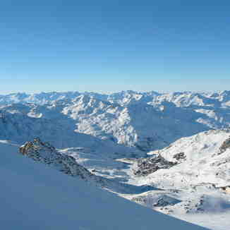 Val thorens panorama