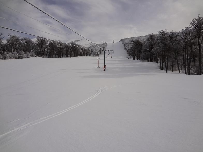 Fresh snow, El Fraile