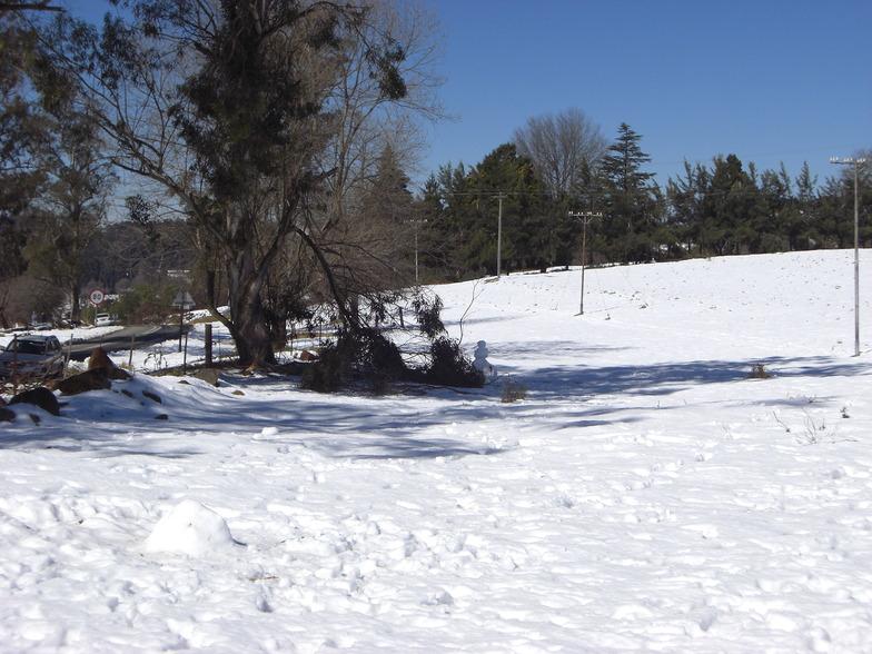 Mont-aux-Sources snow