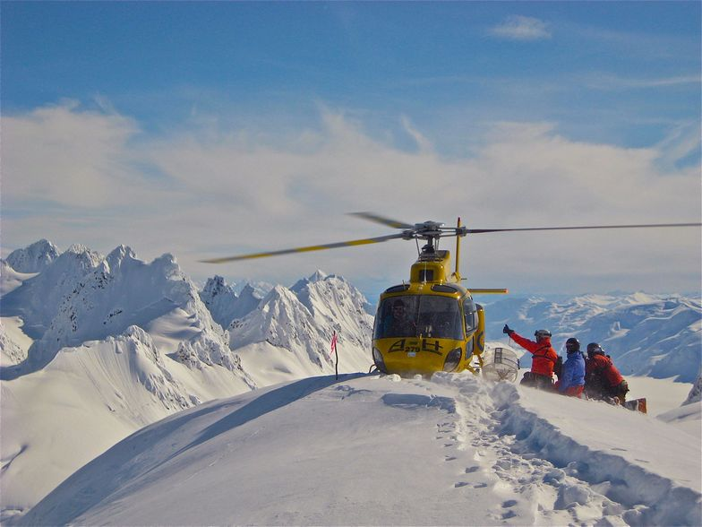 get off the lift in haines, ak, Eaglecrest Ski Area
