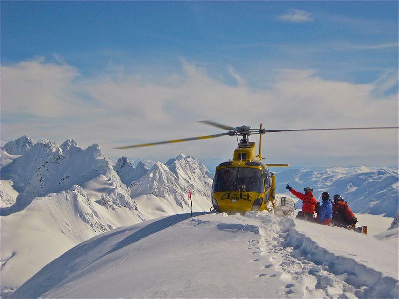 Eaglecrest Ski Area snow