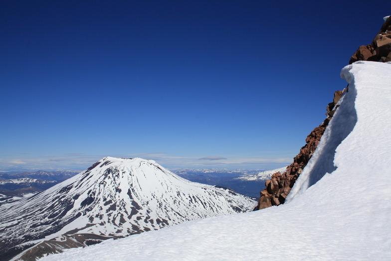 Volcan Lonquimay (cara norte desde Vn.Tolhuaca), Corralco (Lonquimay)