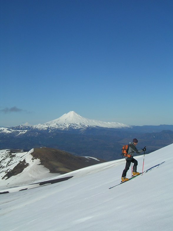 Skitouring in Chile, Lonquimay Volcano, Corralco (Lonquimay)