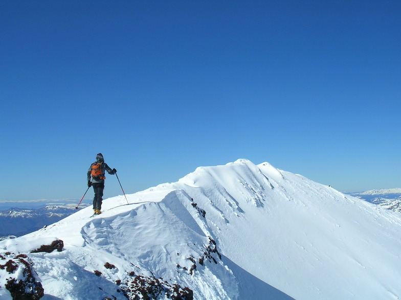 Ski Touring in Chile, Lonquimay Volcano Crater, Corralco (Lonquimay)