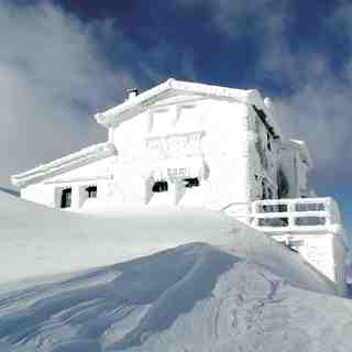 Refuge at Velouxi Mountain, Karpenisi, Greece