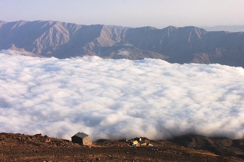 perfect view, Mount Damavand
