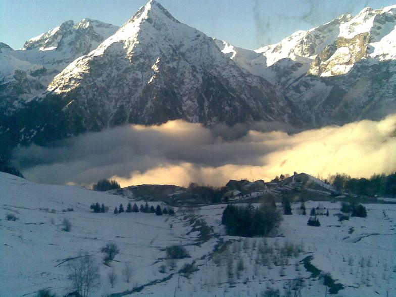 Mountain scene, Les Deux Alpes