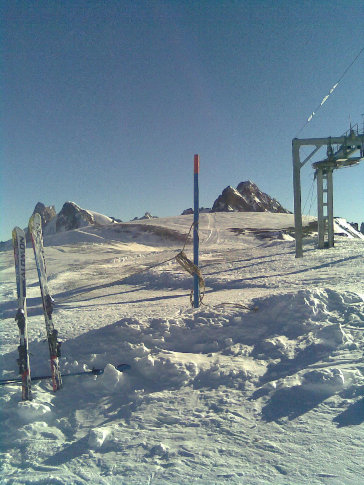 Top of the glacier, Les Deux Alpes
