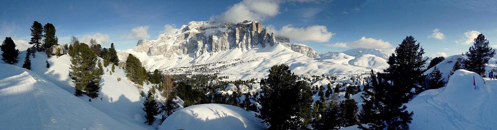 Sella ronda panorama, Val Gardena