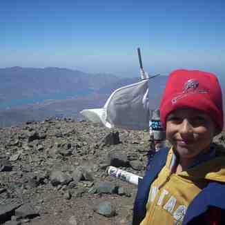 Matias Armani 9 años Cumbre L.blancas 02/2012, Vallecitos