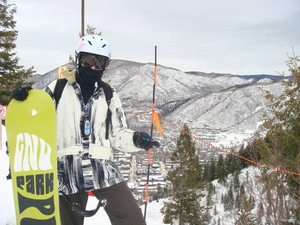 SNOWBOARDER, Aspen photo