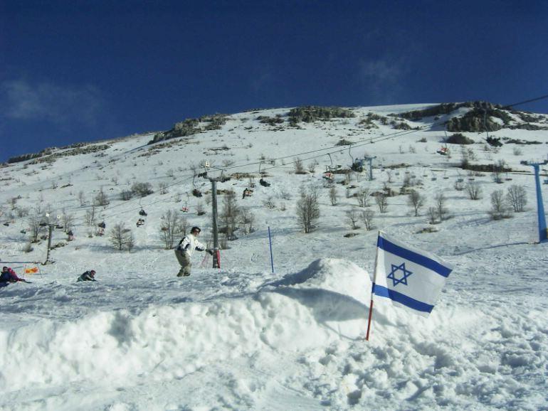 nice day in hermon, Mount Hermon