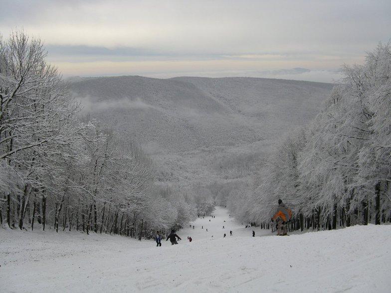 Winter in autumn, Dobogókő Sícentrum