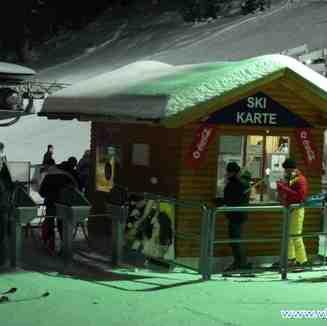 Noćno skijanje, Vlašić
