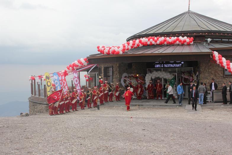 lifos cafe & restaurantın açılış töreni, Erciyes Ski Resort