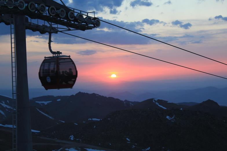 lifos cafe&restaurant tan güneşin son hali, Erciyes Ski Resort
