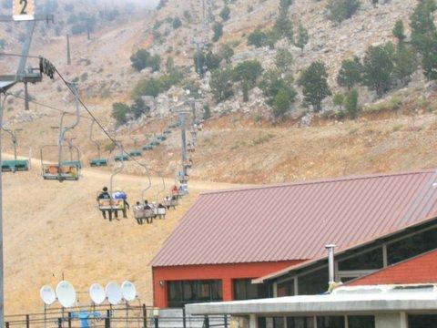 hermon in summer, Mount Hermon