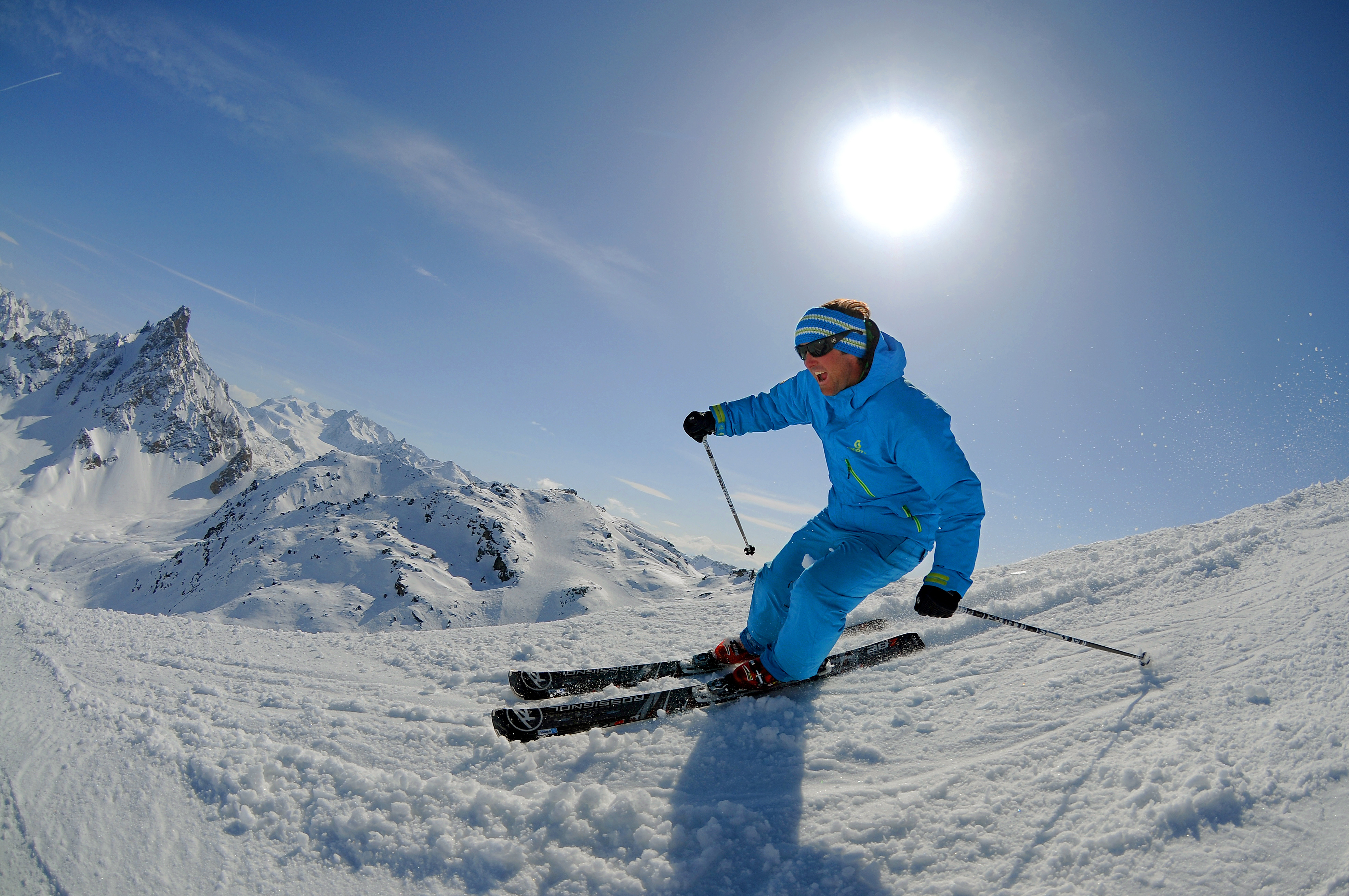 The top of Courchevel