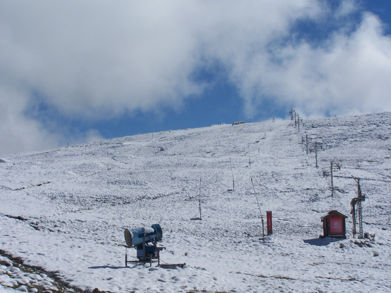 Serra da Estrela snow