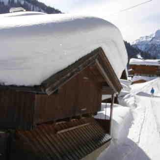ski route, Alpbachtal