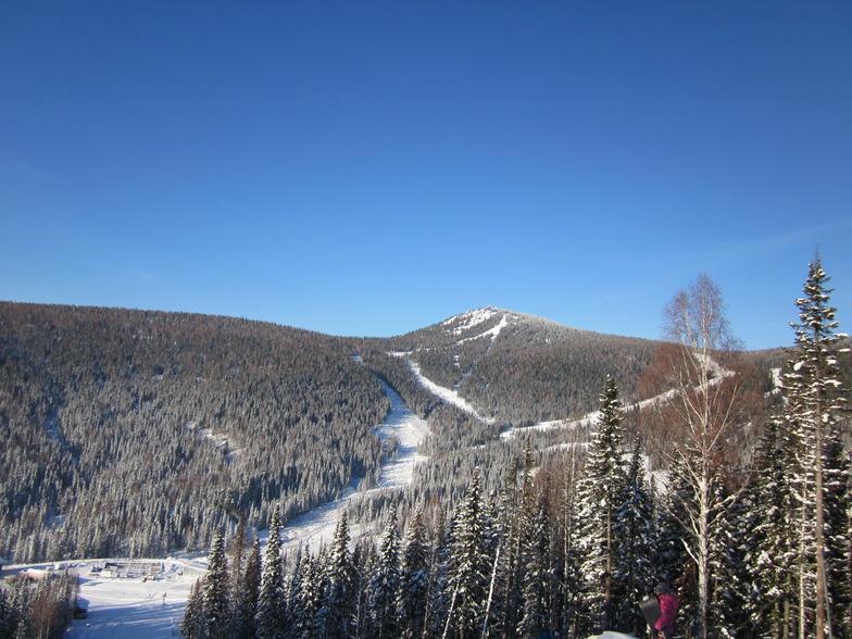 Sheregesh snow