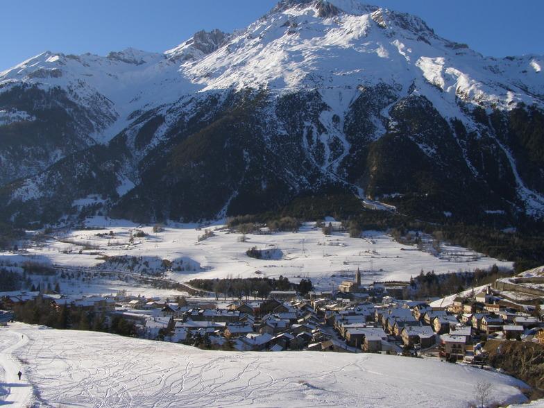 Val Cenis snow
