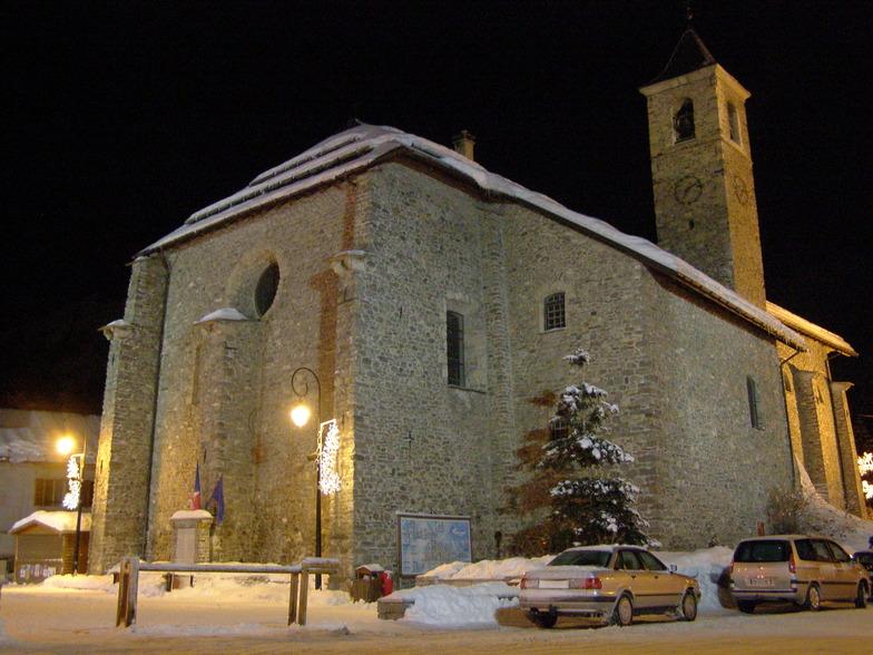 church in Valloire
