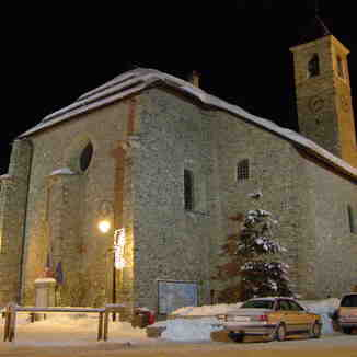 church in Valloire
