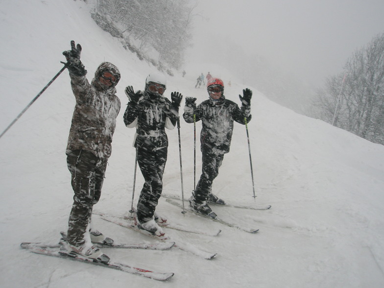 bad weather in Valloire