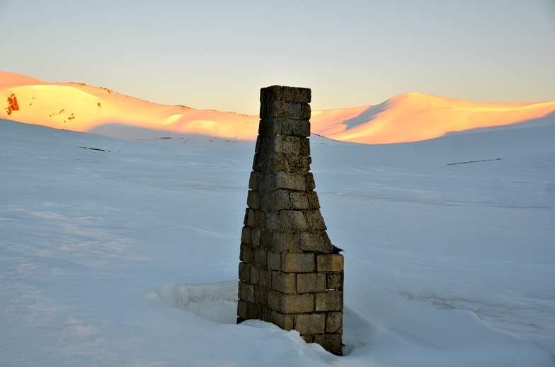Sunrise at the Ruined Chimney near Charlotte Pass, Kosciuszko National Park, Australia