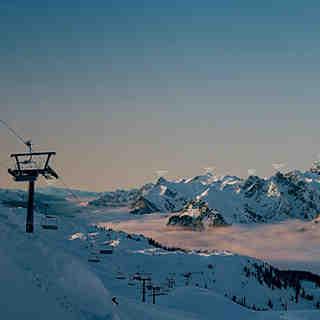 skibase Arlberg Sonnenkopf panorama, Klösterle/Sonnenkopf