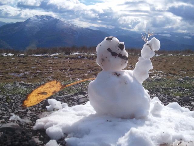 first snowfall sorry ball, Formigal