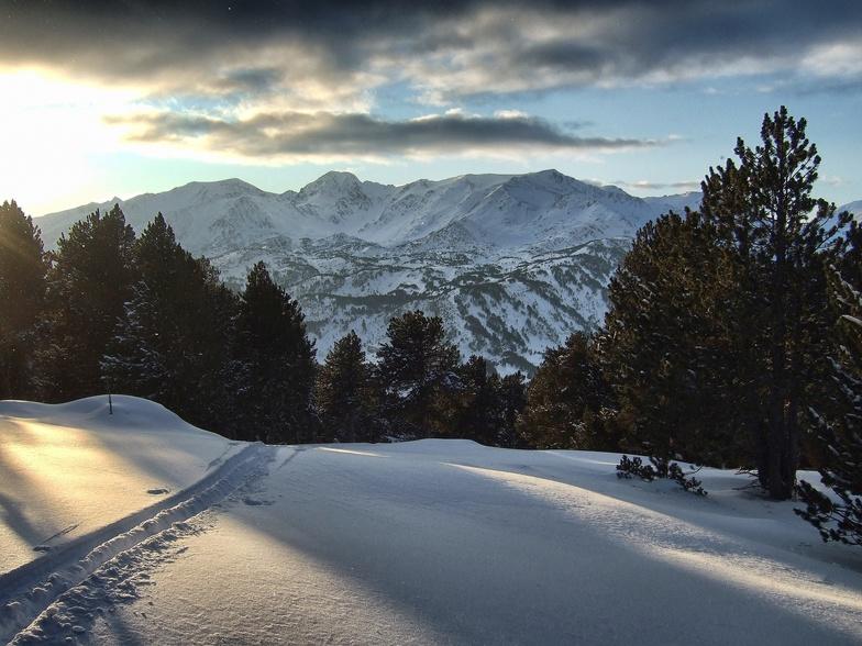 Formigueres snow
