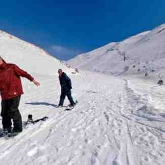 hermon ski near the lebanis lines, Mount Hermon