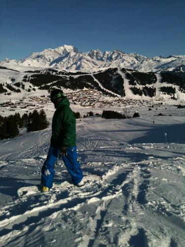 Les Saisies Ski Resort by: chris sturgess