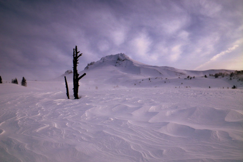 Early Morning MtHood Climb, Timberline